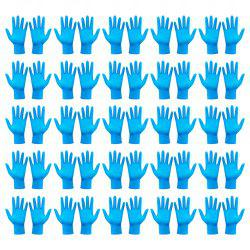 Safety Disposable NBR (Nitrile Butadiene Rubber) Gloves Personal Protective Equipment -