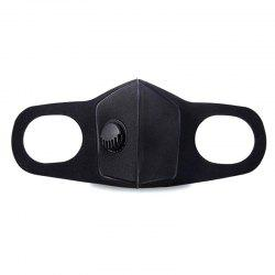 Double Valve Breathing Mask Antifogging Haze Perspective Dustproof Mask Outlet Valve Sponge -