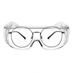 Anti-splash Transparent Goggles Windproof Anti-dust Protective Glasses Eye Protection for Riding Anti Droplets Infection -