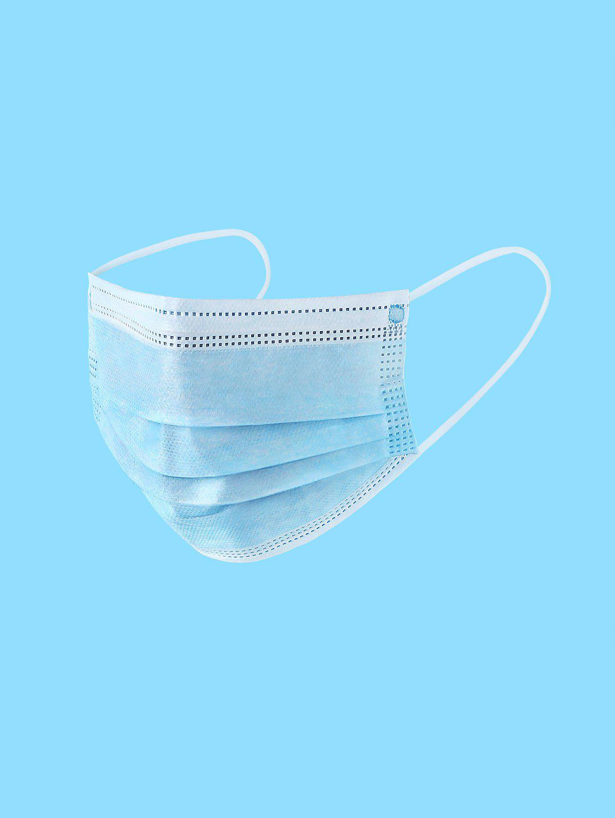 Shops Disposable Isolation Face Mask with FDA and CE Certification Anti-Dust Masks 50pcs