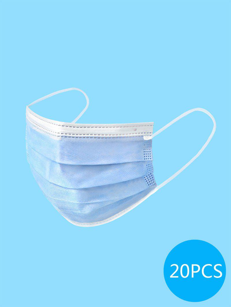 20PCS Disposable Isolation Face Mask with FDA and CE Certification Surgical Masks