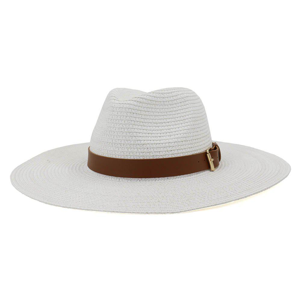 Outfit British Style New Spring Summer Large Brimmed Straw Hat Sir Outdoor Travel Tourism Hat