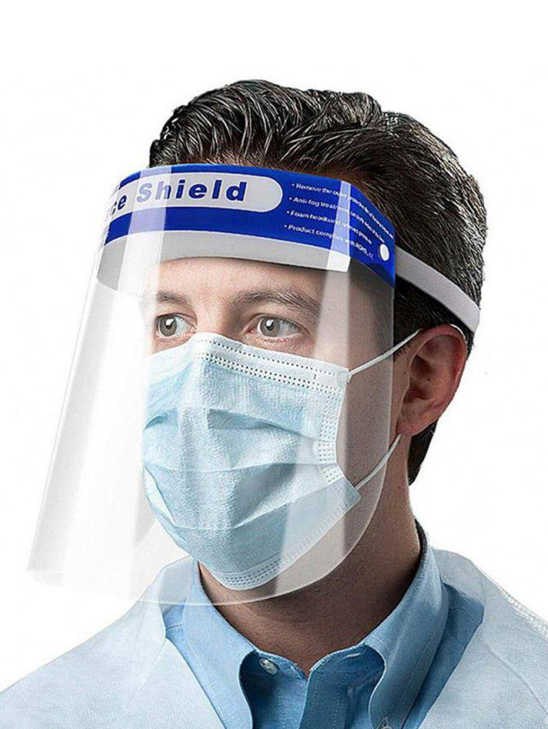 Discount Protective Mask Adjustable Clear Face Mask Anti-Fog Anti-Droplets Full Protection Transparent Hat Face Shield For Full-face