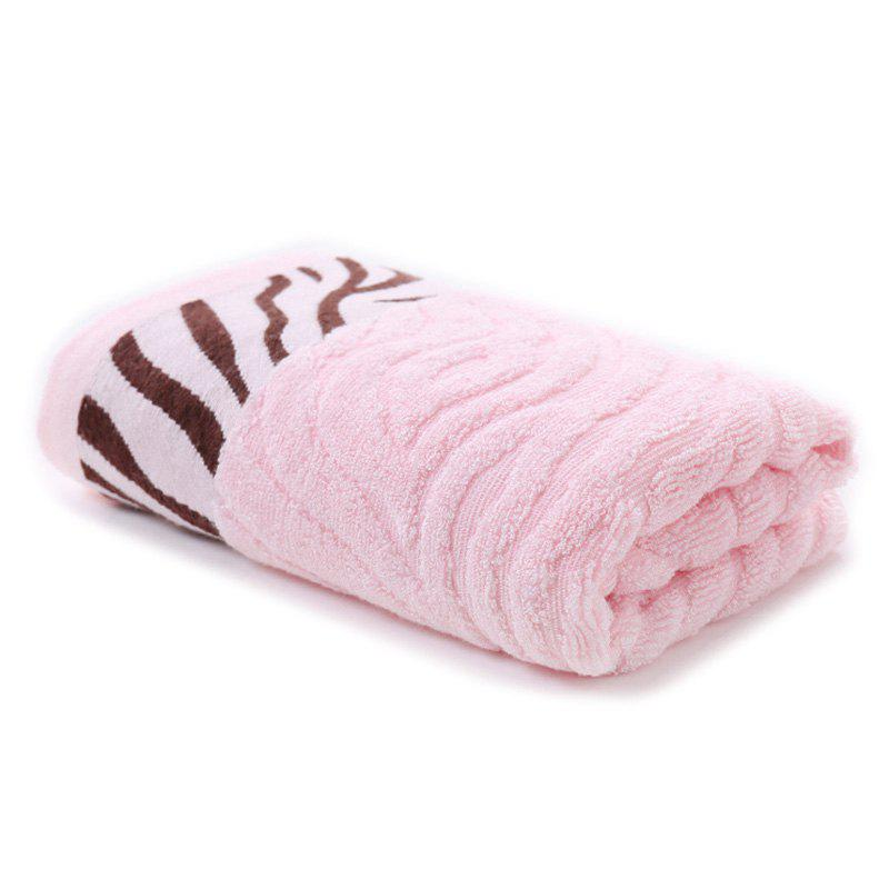 Chic Household Tiger Skin Pattern Bamboo Fiber Towel Absorbent Soft Adult Facial Bath Towels