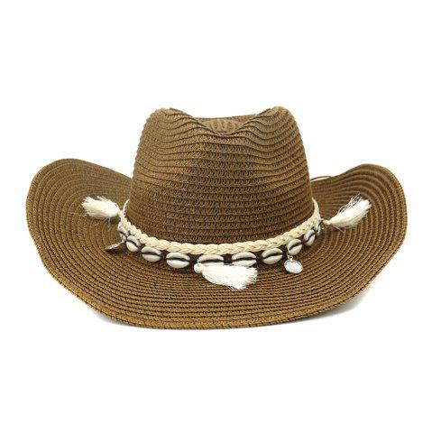 NZCM094 Outdoor Men Women Hat Seaside Beach Sun Cowboy Hat