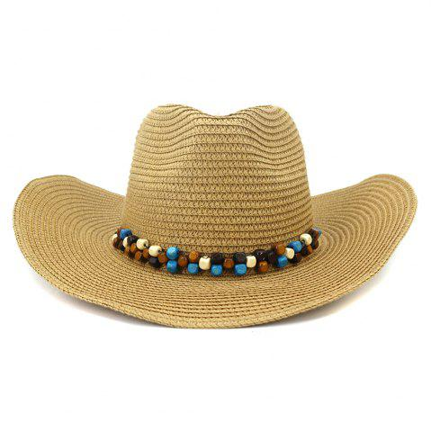 NZCM092 Cowboy Hat Seaside Beach Hat Male Outdoor Sun Hat