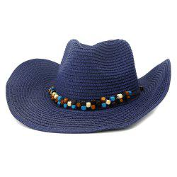 NZCM092 Cowboy Hat Seaside Beach Hat Male Outdoor Sun Hat -