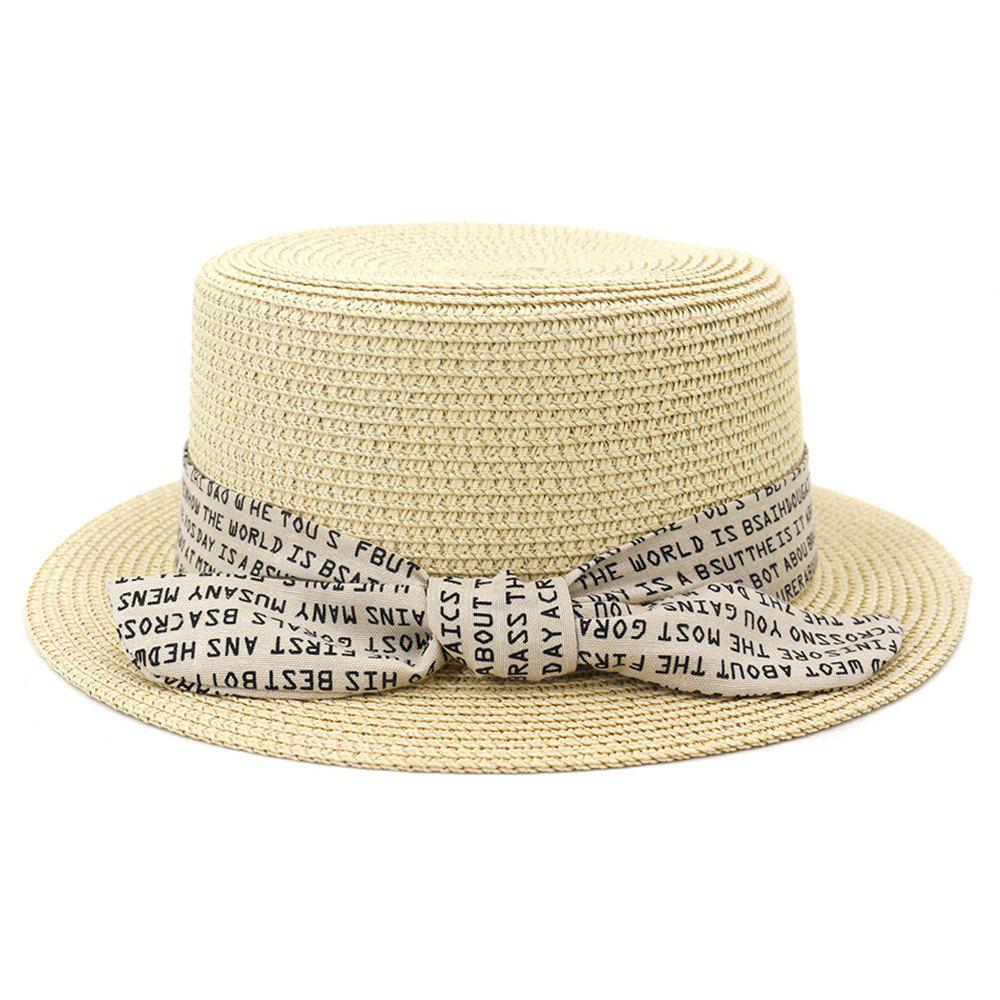 Discount XPD002 Sun Hat Flat-topped Men Women Beach Hat Straw Hat