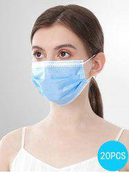 20PCS Disposable Isolation Face Mask with FDA and CE Certification -