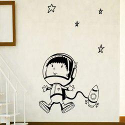 Space Navigation Pattern Removable Cartoon Wall Stickers