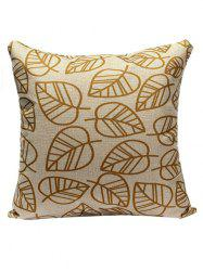 Leaves Sofa Cushion Pillow Case