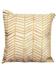 Sofa Cushion Pillow Case - YELLOW + GOLDEN