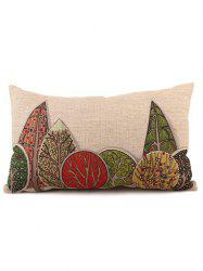 Rectangle Waist Cushion Linen Pillow Case - COLORMIX