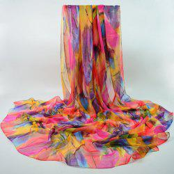 Gorgeous Feathers Printed Shawl Wrap Scarf