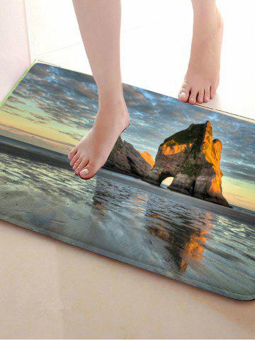 Hot Flannel Skidproof Water Absorb Carpet - 40CM*60CM COLORMIX Mobile