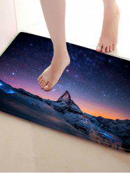 Snow Mountain Print Antislip Home Decor Caroset Rug