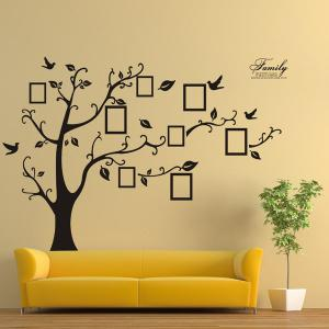 ... DIY Photo Frame Tree Home Decals Wall Stickers ...