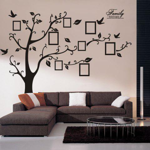 Best DIY Photo Frame Tree Home Decals Wall Stickers - BLACK  Mobile