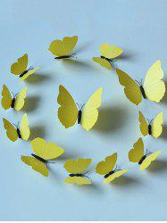 12Pcs/Set Simulation DIY Magnet Butterflies 3D Wall Stickers