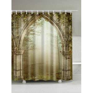 Dreamy Creepers Archway Print Waterproof Shower Curtain - Colormix - 180*200cm