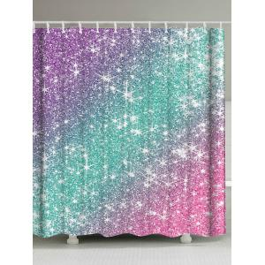 Ombre Shimmer Background Pattern Shower Curtain