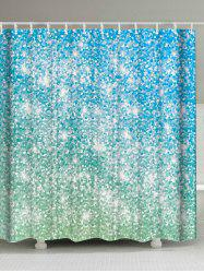 Shimmer Background Waterproof Shower Curtain