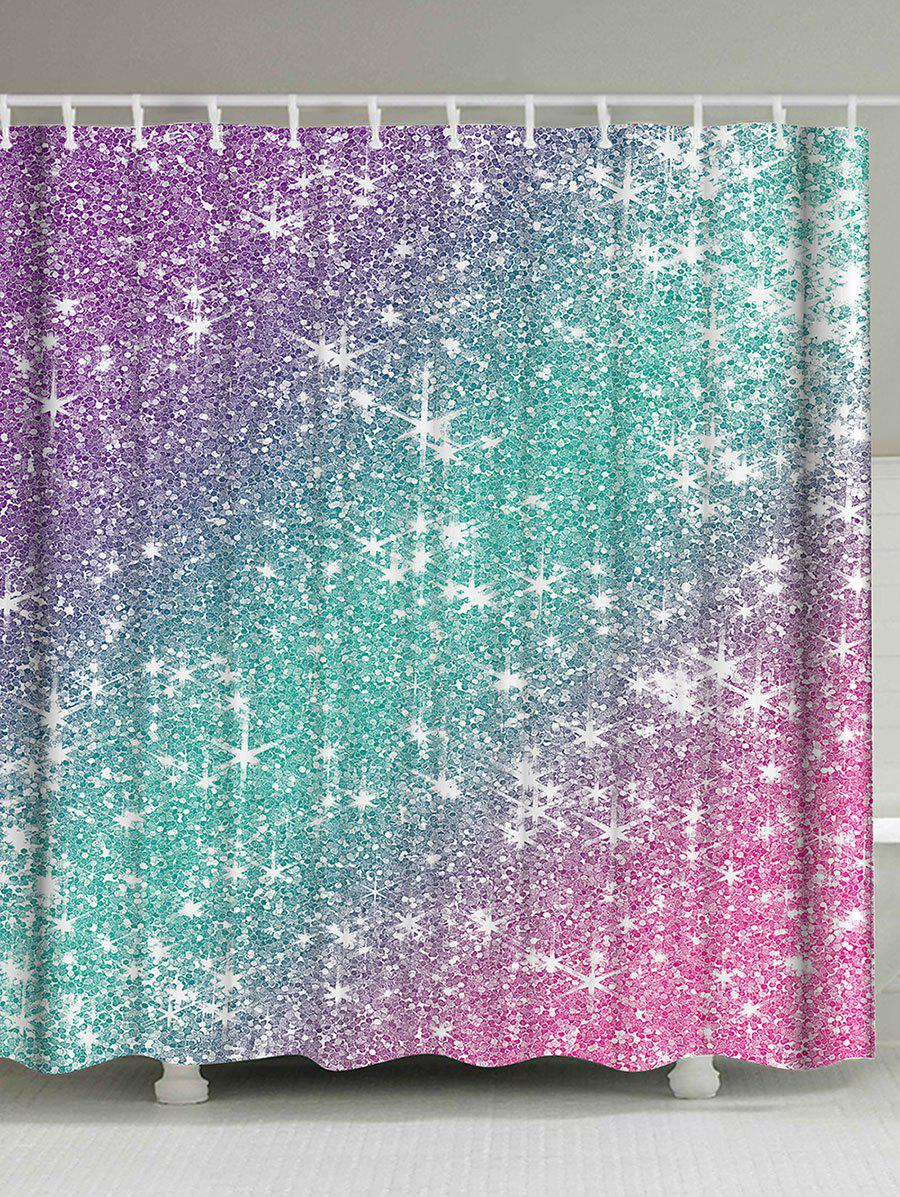 Shops Ombre Shimmer Background Pattern Shower Curtain