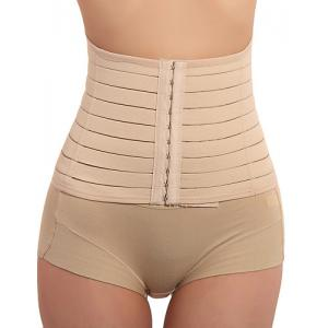 Steel Boned Waist Training Corset