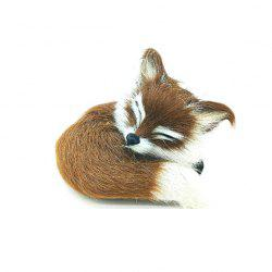 Super Cute Simulation Fox Plush Toys Kids Appease Doll Gifts -