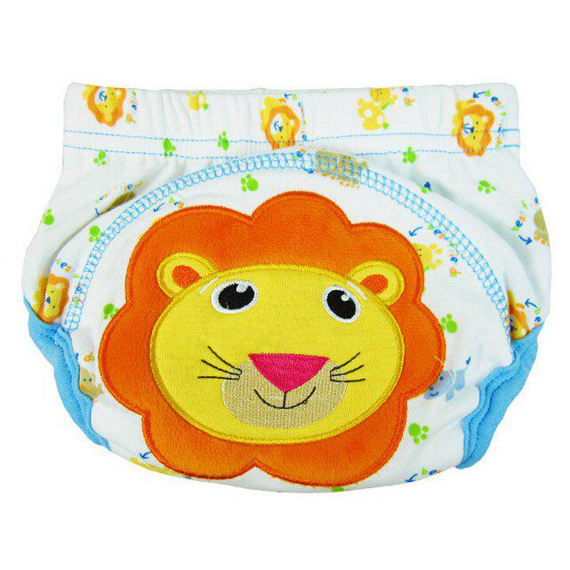 Hot Baby Cartoon Style Diaper Cotton Training Pants Cover