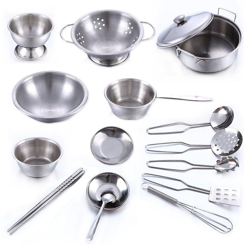 Stainless Steel Kitchen Utensils Toys