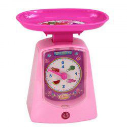 Mini Plastic Sound Simulation Electronic Scale for Kids -