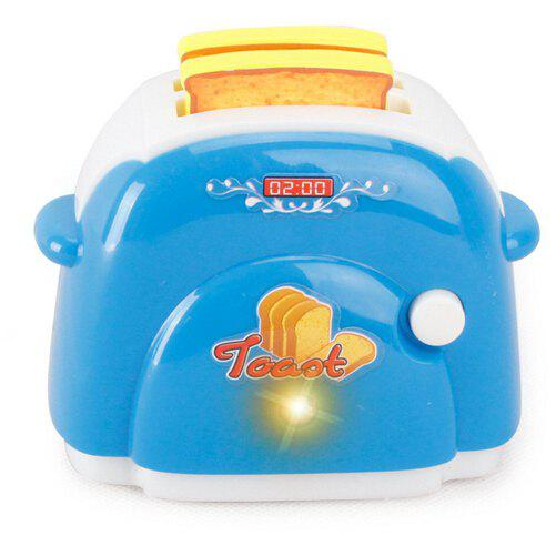Online Mini Kitchen Plastic Sound Simulation Bread Maker for Kids