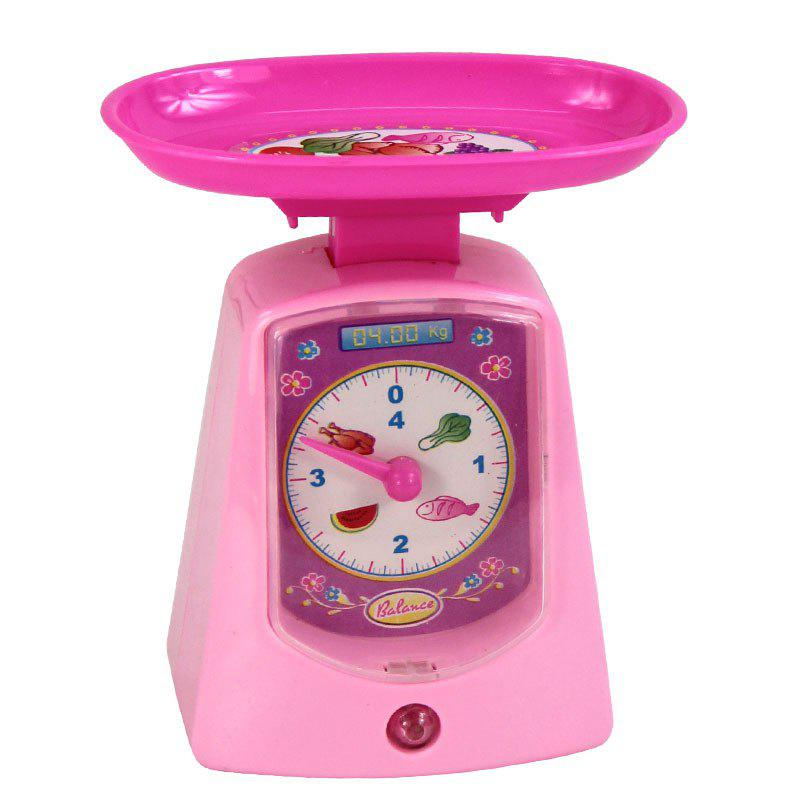 Fancy Mini Plastic Sound Simulation Electronic Scale for Kids