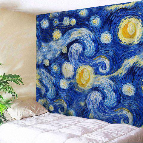 Unique Oil Painting Galaxy Wall Decor Hanging Tapestry