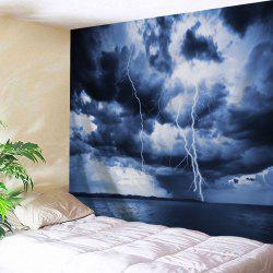 Lightning Print Decorative Tapestry Wall Hangings