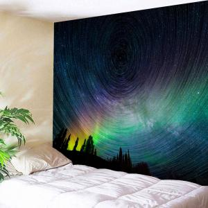 Psychedelic Night Sky Bedroom Wall Tapestry