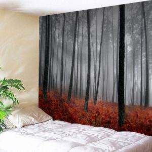 Foggy Grove Wall Tapestry For Bedroom Decor