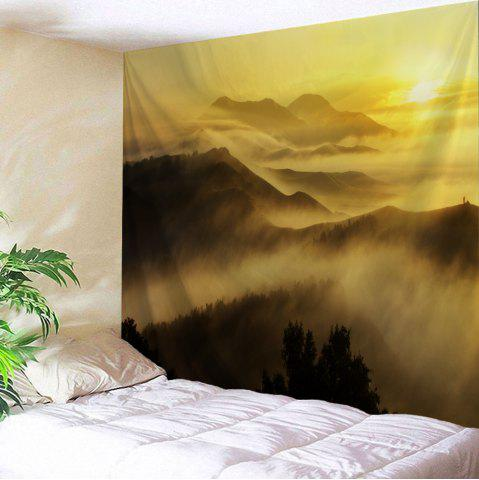 Misty Mountains Scenery Wall Decoration Tapestry