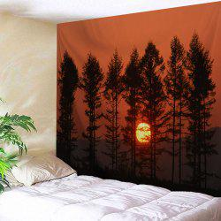 Sunset Spinney Wall Blanket Hanging Tapestry