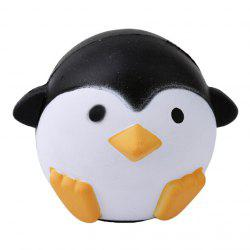 Lovely Pressure Relief Squishy PU Animal Toys Penguin Model -