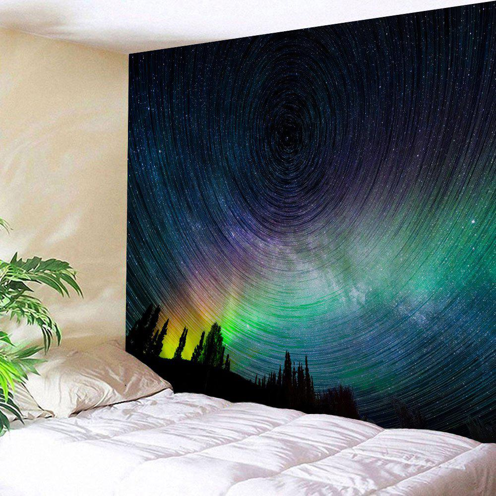 Online Psychedelic Night Sky Bedroom Wall Tapestry