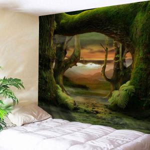 Fairyland Forest Hanging Decorative Wall Tapestry