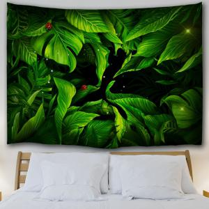 Greenery Bedroom Dorm Decor Wall Tapestry -