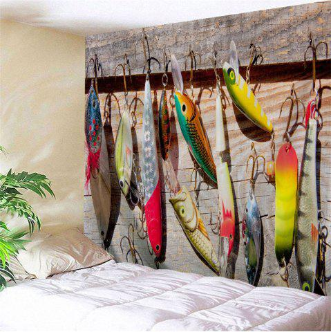 Store Fishhook Print Wall Art Decoration Throw Tapestry