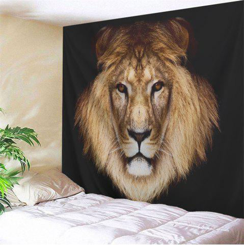 Buy Lion Head Printed Wall Hanging Decorative Tapestry