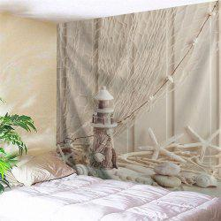 Beach Style Hanging Blanket Wall Art Tapestry -