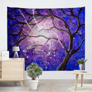 Tree Branch Print Tapestry Wall Hanging Art Décoration -