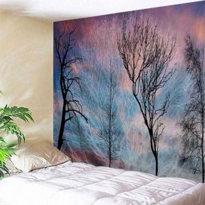 Trees Print Tapestry Wall Hanging Art Decoration
