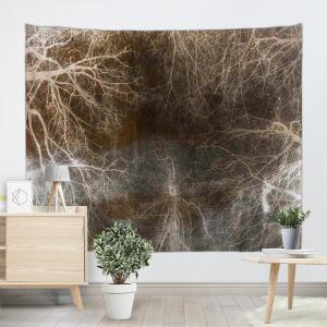 Arbre souterrain Tapis d'impression Décoration murale Suspension murale -